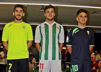 Nuevas casacas del Córdoba CF | Foto Twitter Oficial