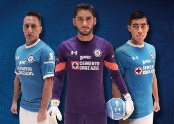 Nuevas casacas del Cruz Azul | Foto Web Oficial