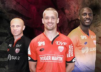 Nuevas camisetas del Dijon | Foto Web Oficial