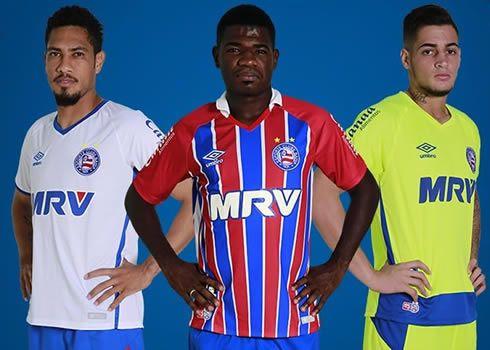 Camisetas del EC Bahia | Foto Umbro