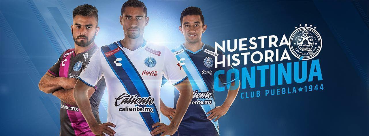 Nuevas casacas del Puebla | Foto Web Oficial