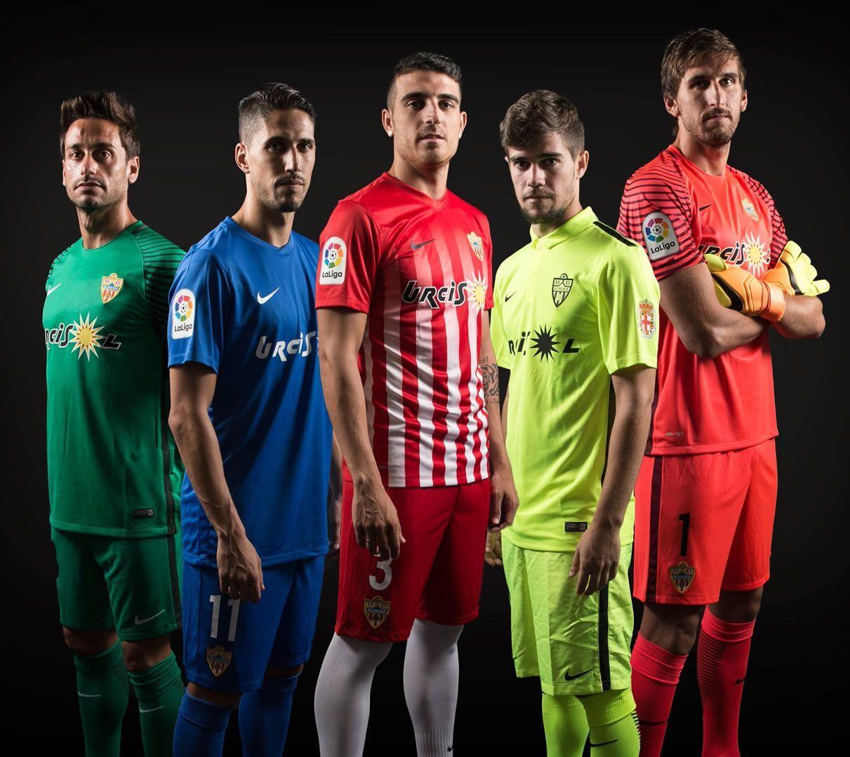 Camisetas del Almería | Foto Web Oficial