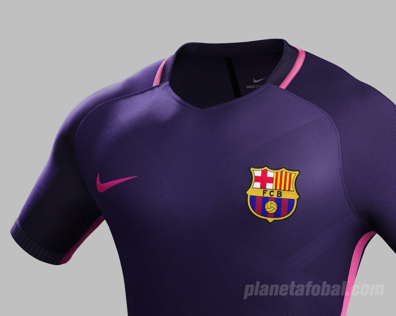 0dbd1fcd81e Camiseta suplente Nike del Barcelona 2016 17