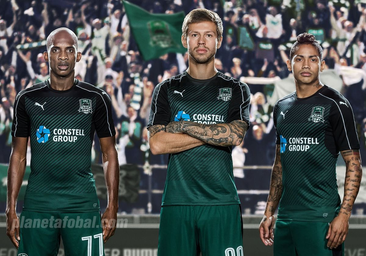 Camisetas Puma Del Fc Krasnodar 2016 17