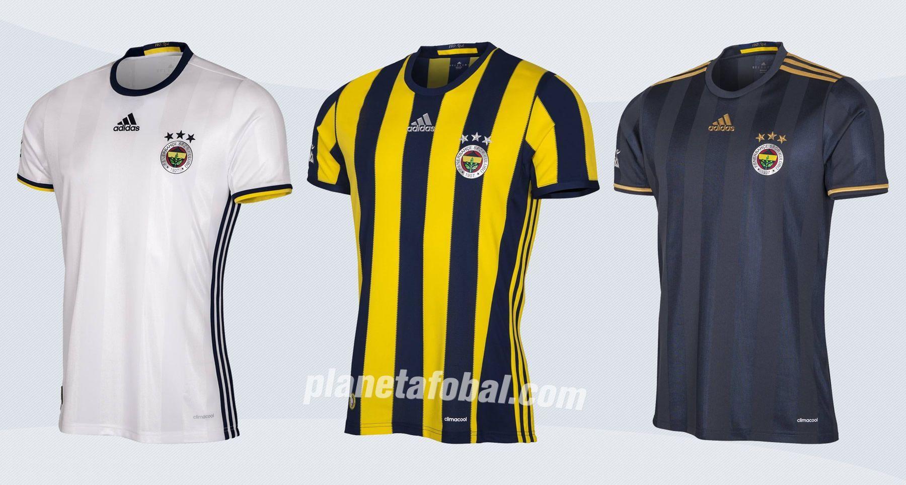 Camisetas del Fenerbahçe | Imágenes Web Oficial