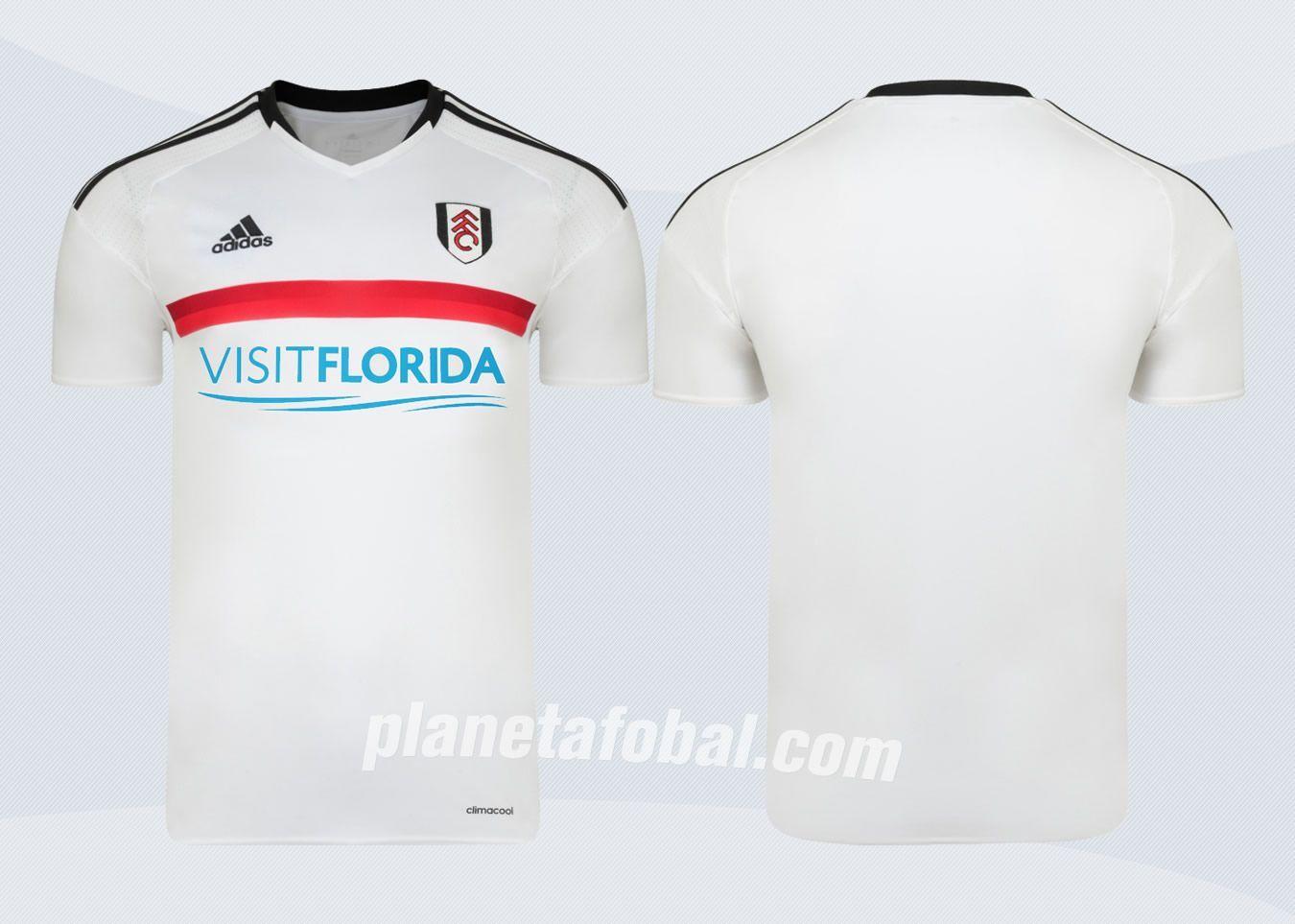 Nueva camiseta titular del Fulham | Imágenes Web Oficial