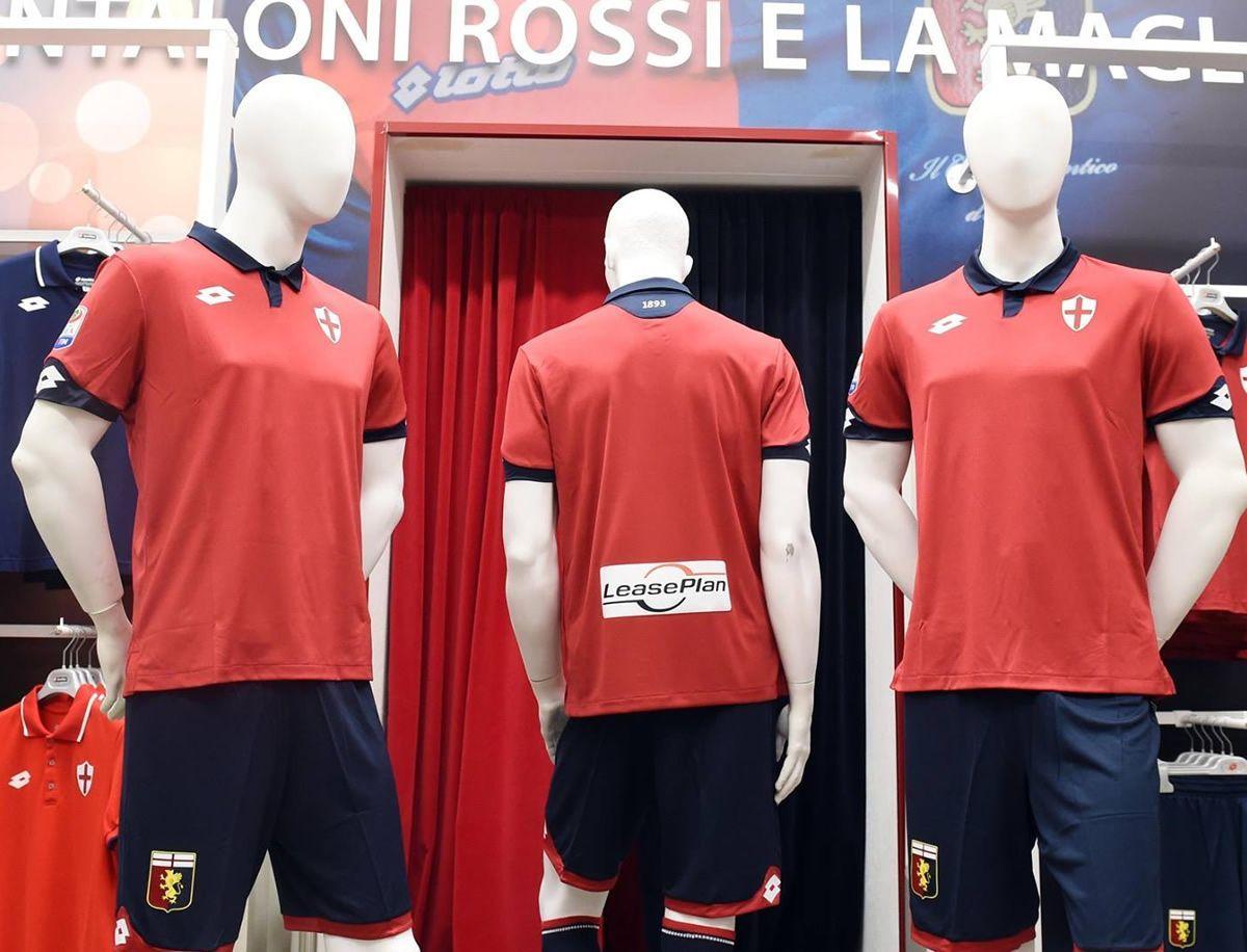 Tercera camiseta del Genoa | Foto Web Oficial