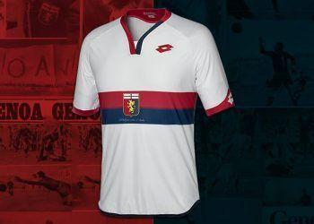 Camiseta suplente del Genoa | Foto Web Oficial