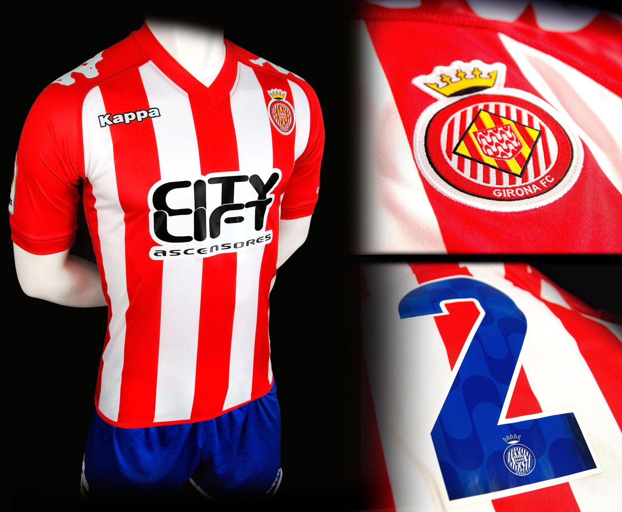 Nueva camiseta del Girona | Foto Web Oficial