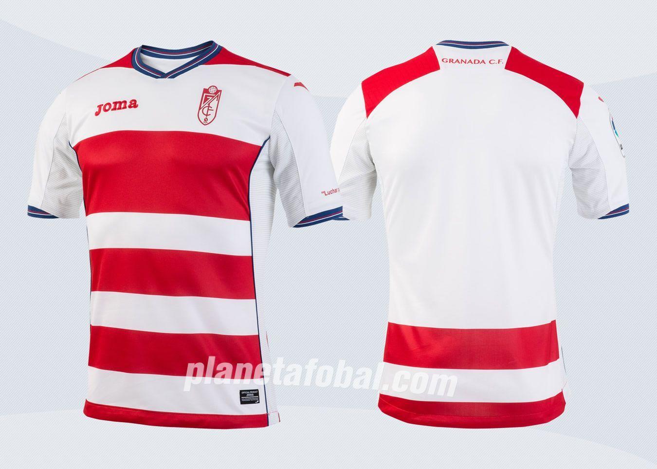 Camiseta titular del Granada CF | Imágenes Facebook Oficial