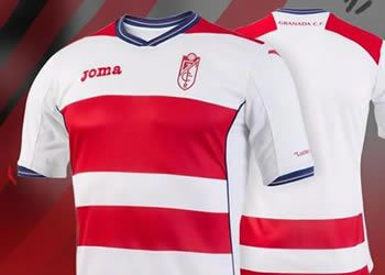 Camiseta titular del Granada CF | Foto Facebook Oficial