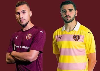 Camisetas del Heart of Midlothian   Foto Web Oficial