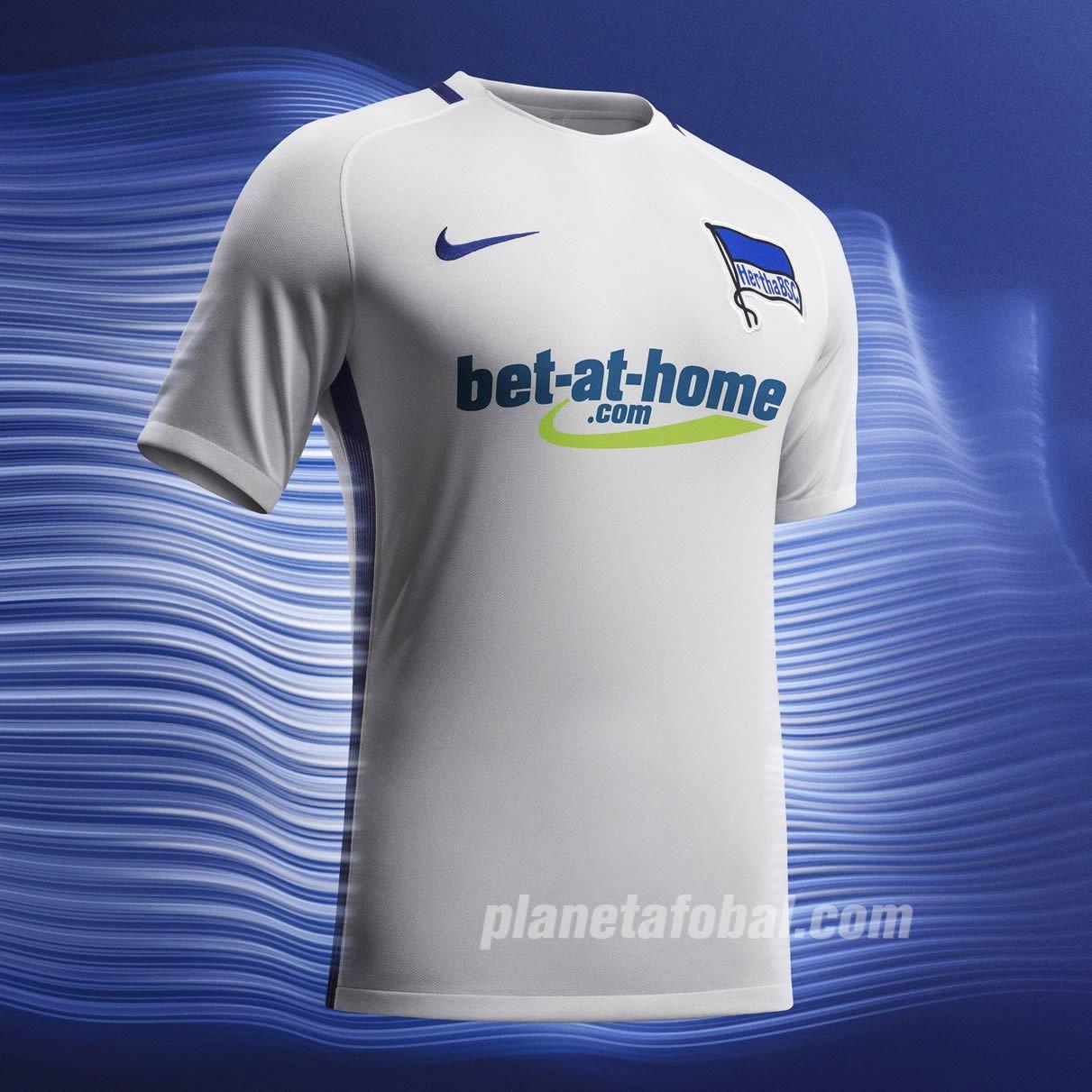 Camiseta suplente del Hertha Berlín | Foto Nike
