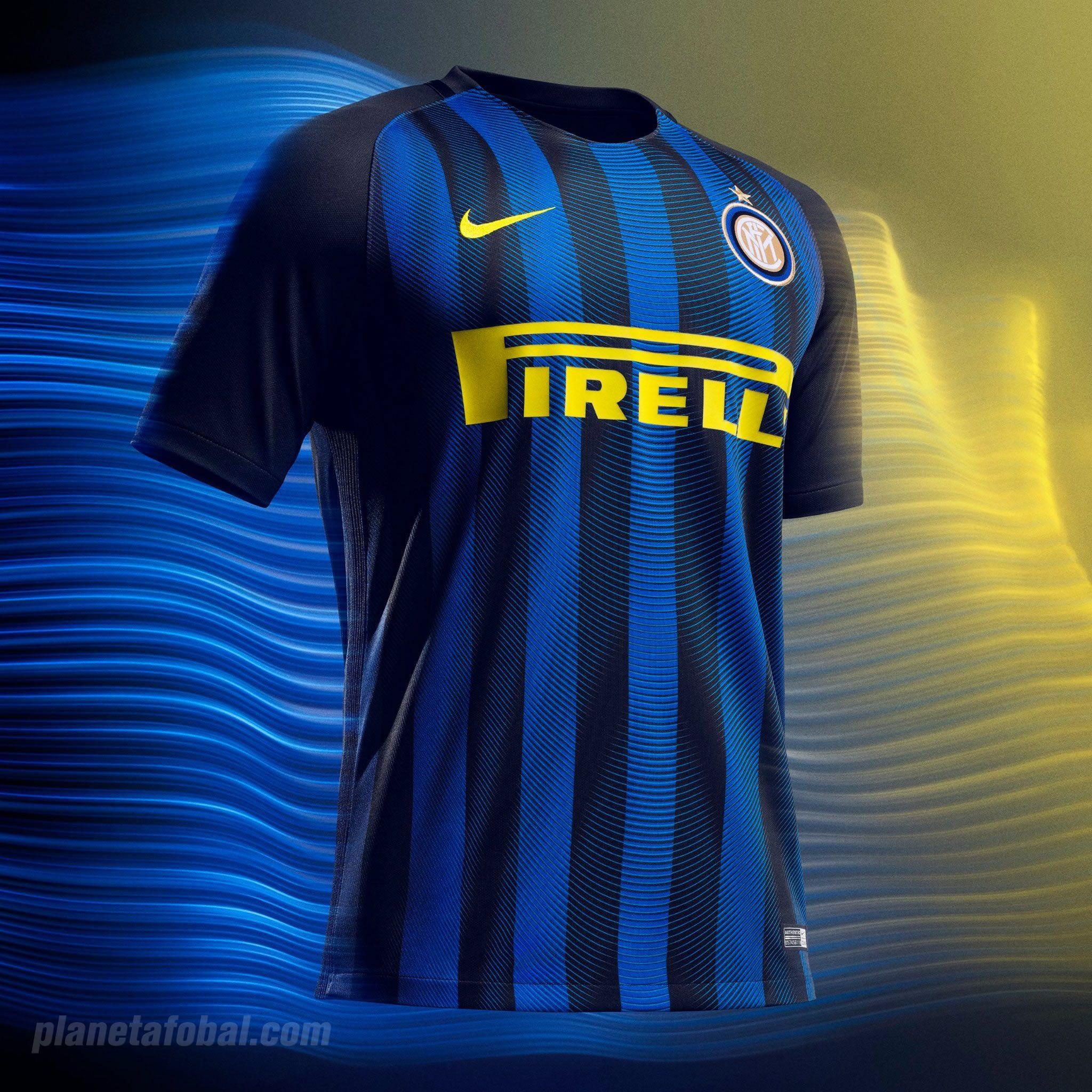 Nueva camiseta del Inter | Foto Web Oficial