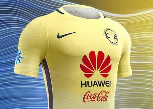Jersey Centenario Nike del Club América de México   Foto web oficial
