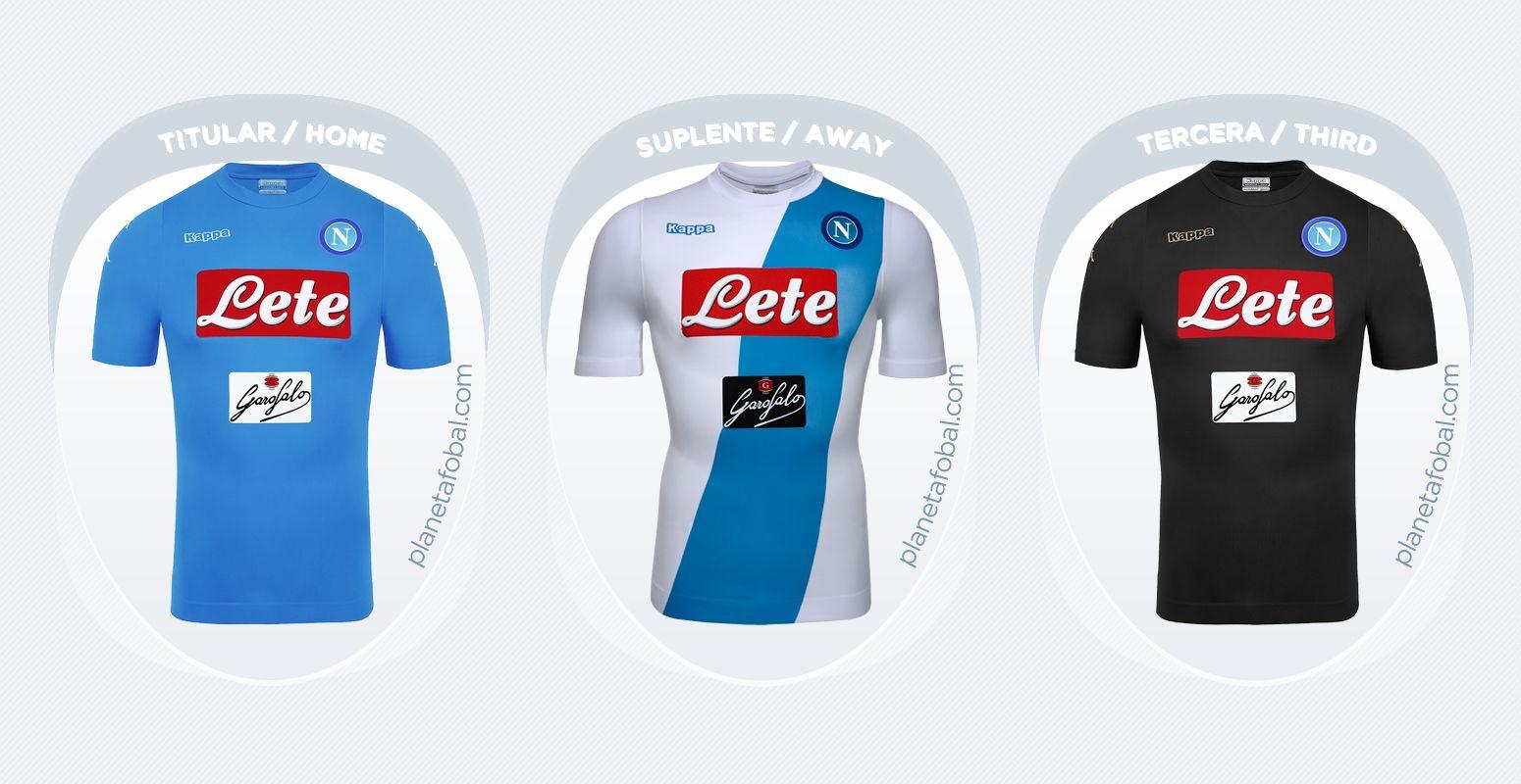 acf351b6ac76b Camisetas de la Serie A 2016 17