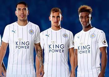 Tercera camiseta del Leicester   Foto Web Oficial
