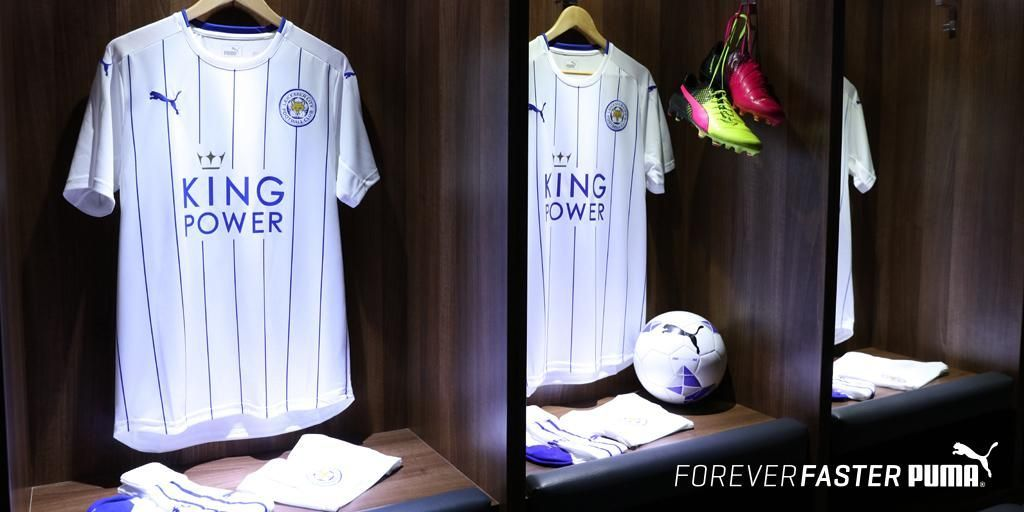 Tercera camiseta del Leicester | Foto Web Oficial