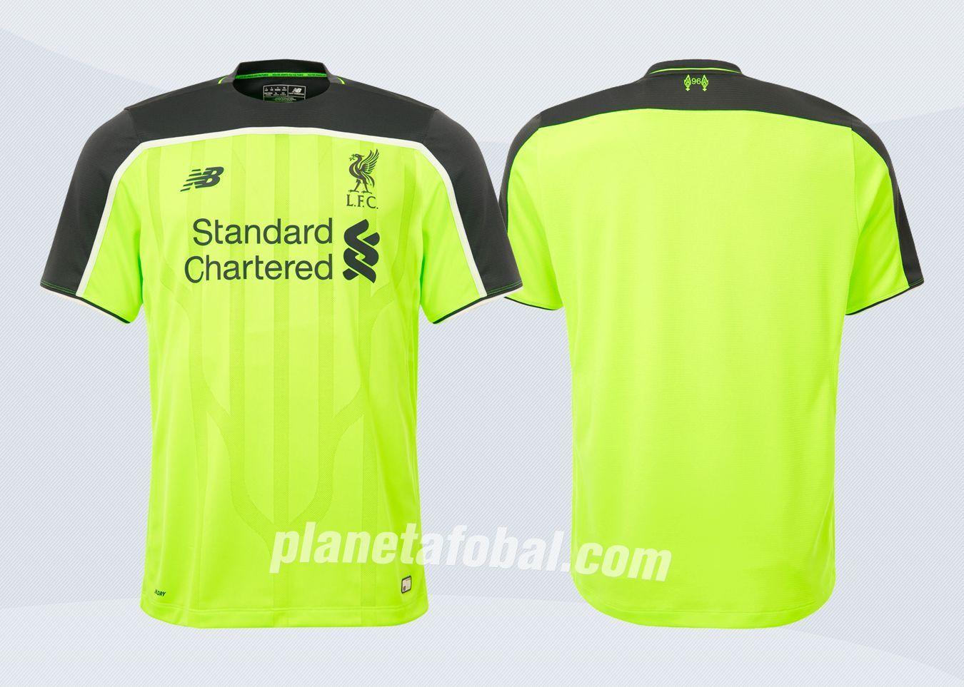 Tercera camiseta New Balance del Liverpool FC para 2016/2017 | Imágenes Tienda Oficial