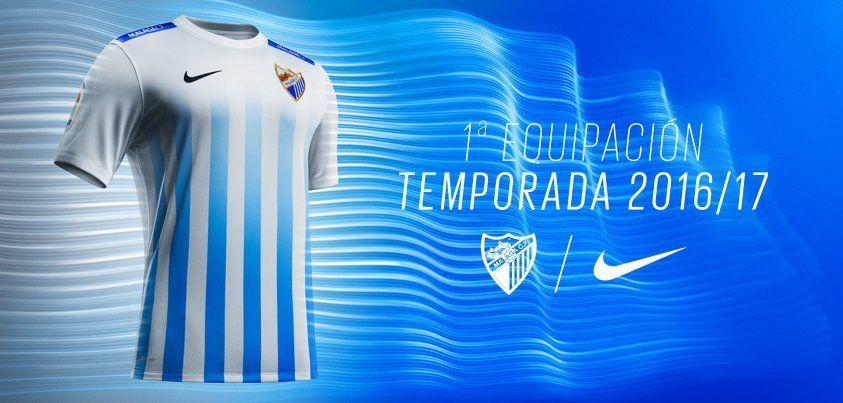 Casaca titular del Málaga CF | Foto Twitter Oficial