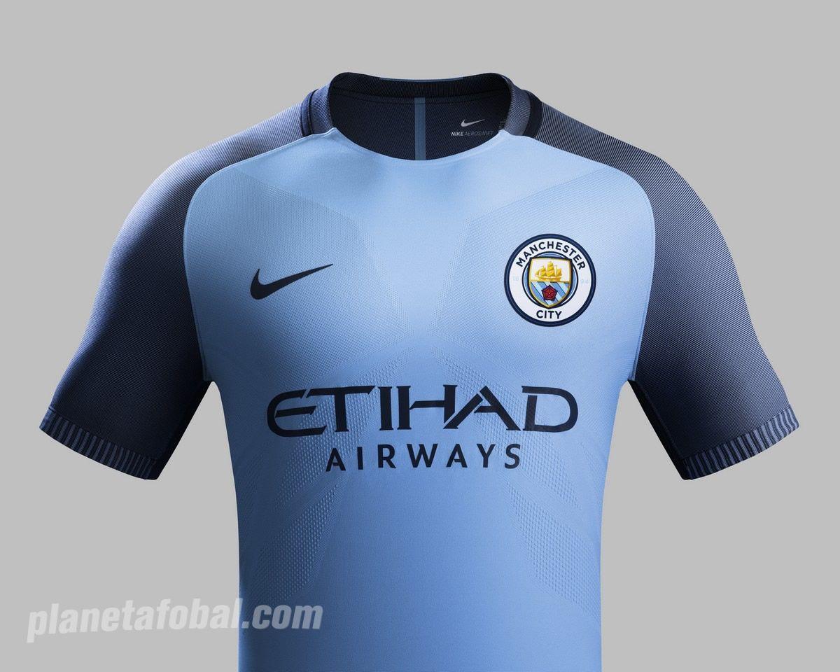 83e7ba872 Camiseta Nike del Manchester City 2016 17