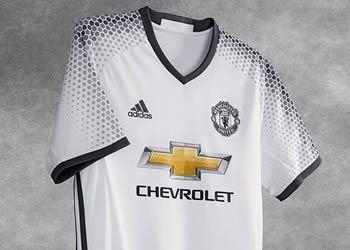 Tercera camiseta del Manchester United para 2016/2017 | Foto Adidas