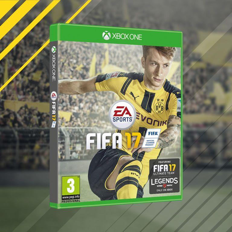Reus será la portada global del FIFA17 | Foto EA Sports