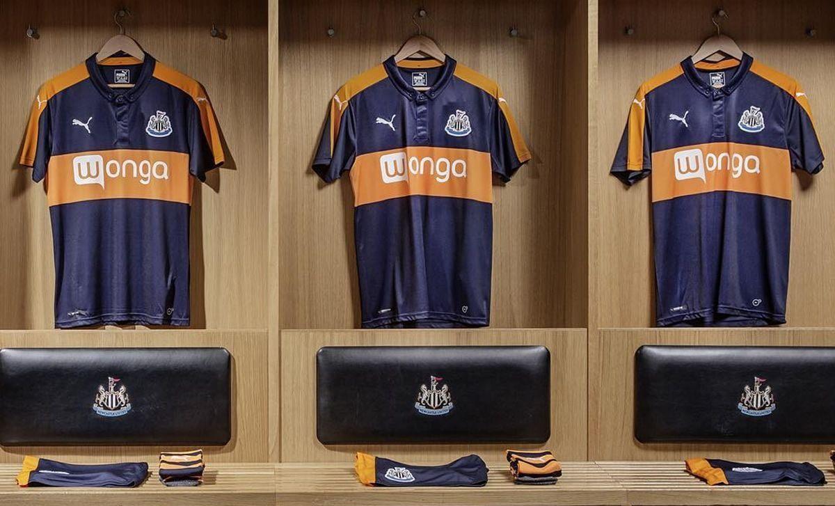Camiseta suplente del Newcastle | Foto Puma