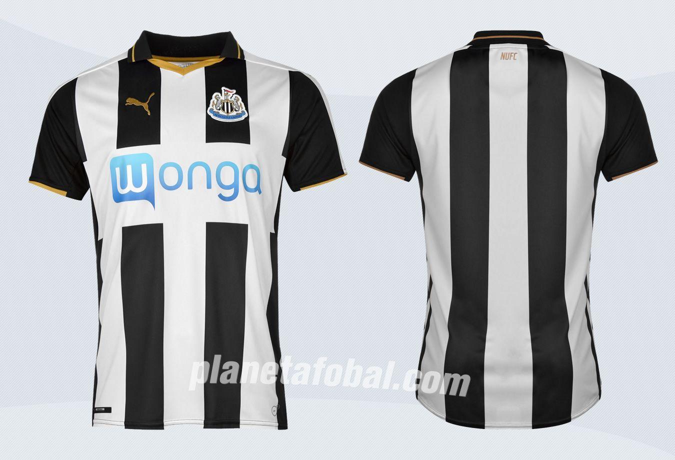 Casaca titular del Newcastle | Imágenes Web Oficial