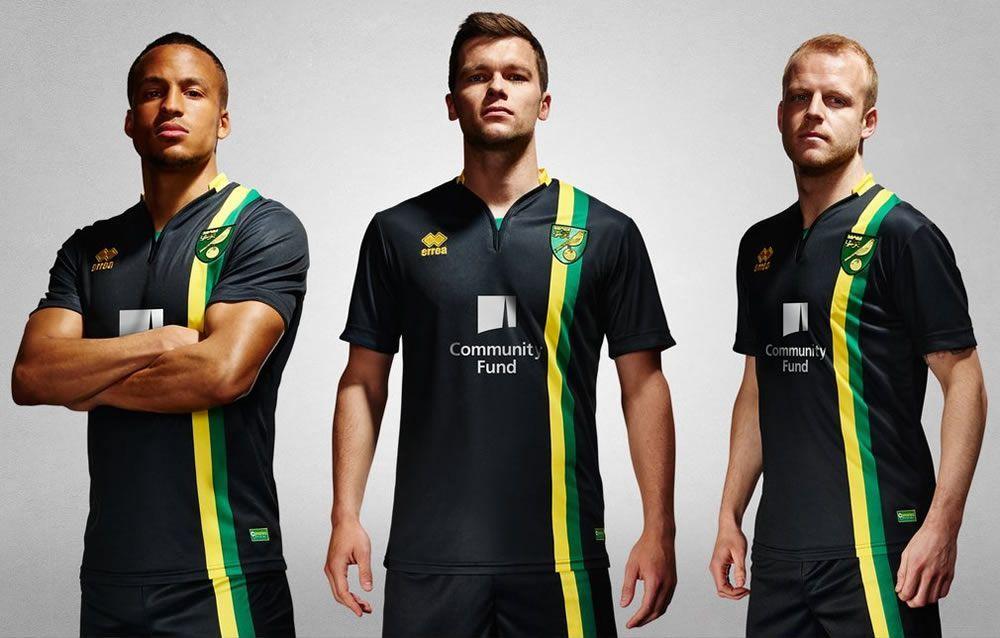Nueva casaca del Norwich City | Foto Web Oficial