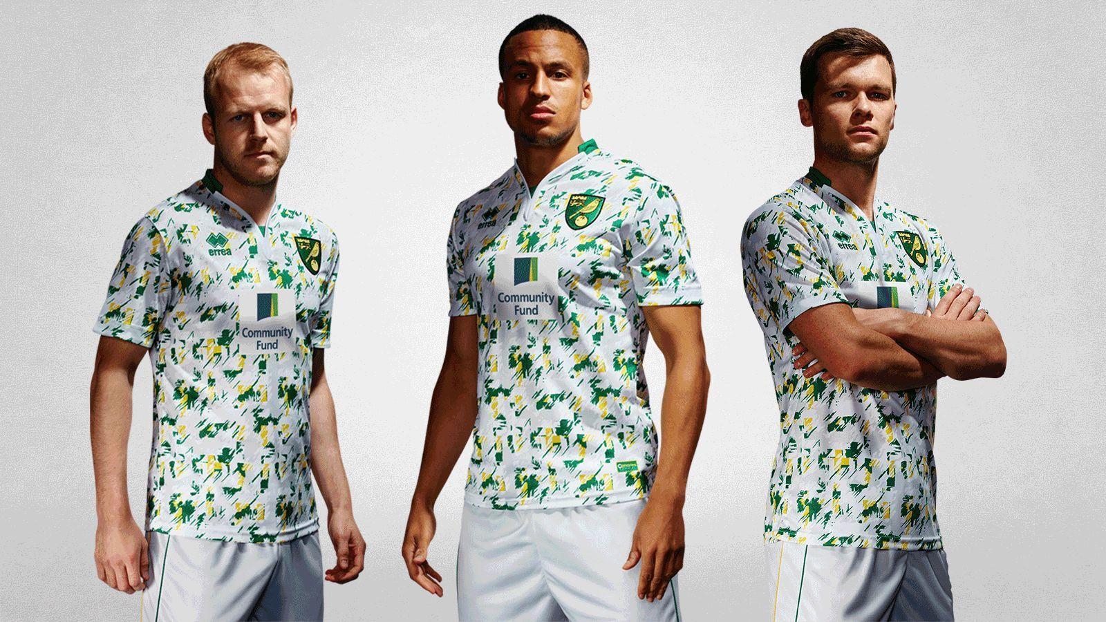 Tercera camiseta del Norwich City | Foto Web Oficial