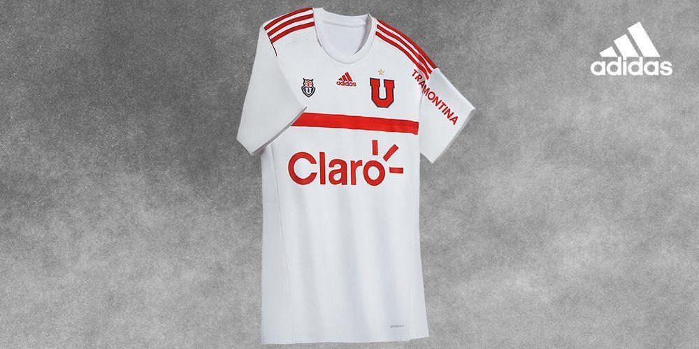 Camiseta suplente de la U de Chile para 2016/2017 | Foto Adidas Chile