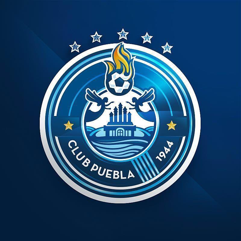 Nuevo escudo del Club Puebla   Foto Twitter Oficial