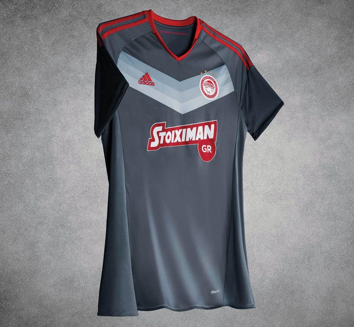 Camiseta suplente del Olympiacos | Foto Adidas