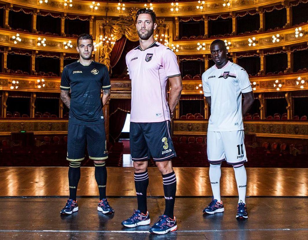 Nuevas casacas del Palermo | Foto Web Oficial