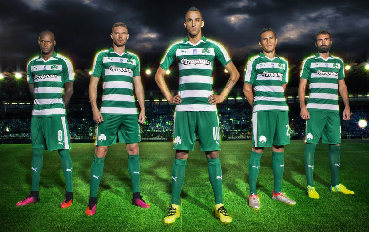 Camiseta titular Puma del Panathinaikos | Foto web oficial