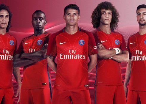 Nueva casaca suplente del PSG | Foto Nike