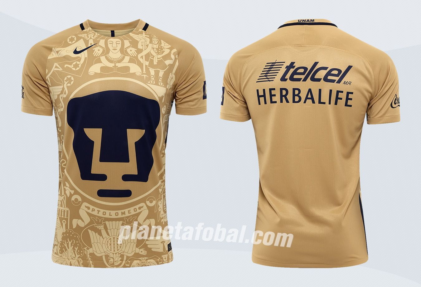 Camiseta titular de los Pumas | Imágenes Web Oficial