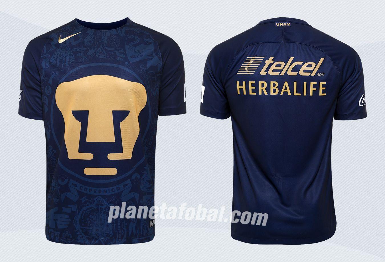 Camiseta suplente de los Pumas | Imágenes Web Oficial