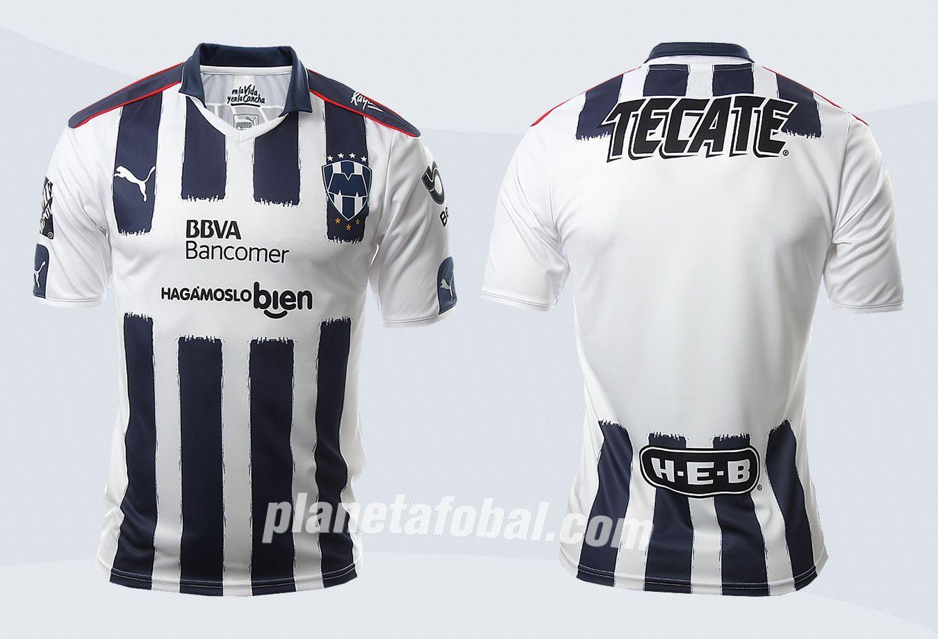 Camisetas Puma de los Rayados de Monterrey 2016/2017 | Planeta Fobal