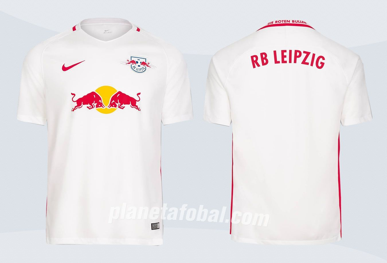Camiseta titular del RB Leipzig | Imágenes Web Oficial