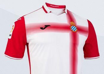 Camiseta suplente del Espanyol | Imágenes Twitter Oficial