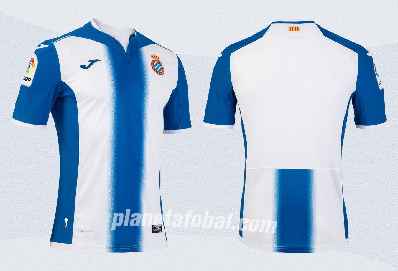 Camiseta titular del Espanyol | Imágenes Twitter Oficial