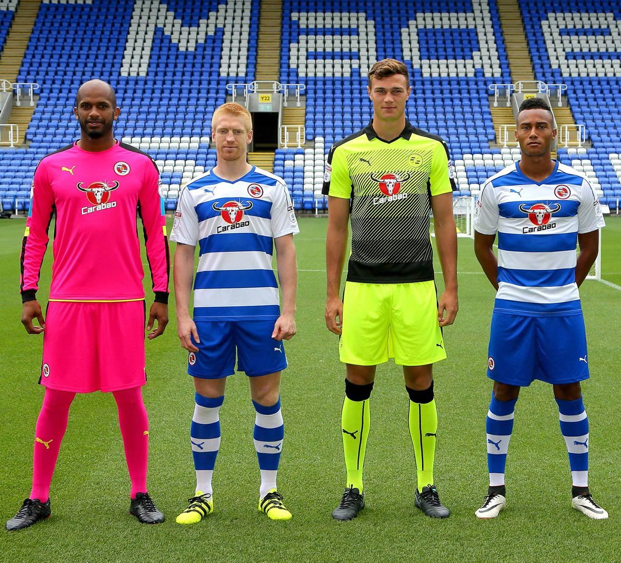 Camisetas Puma del Reading | Foto Web Oficial