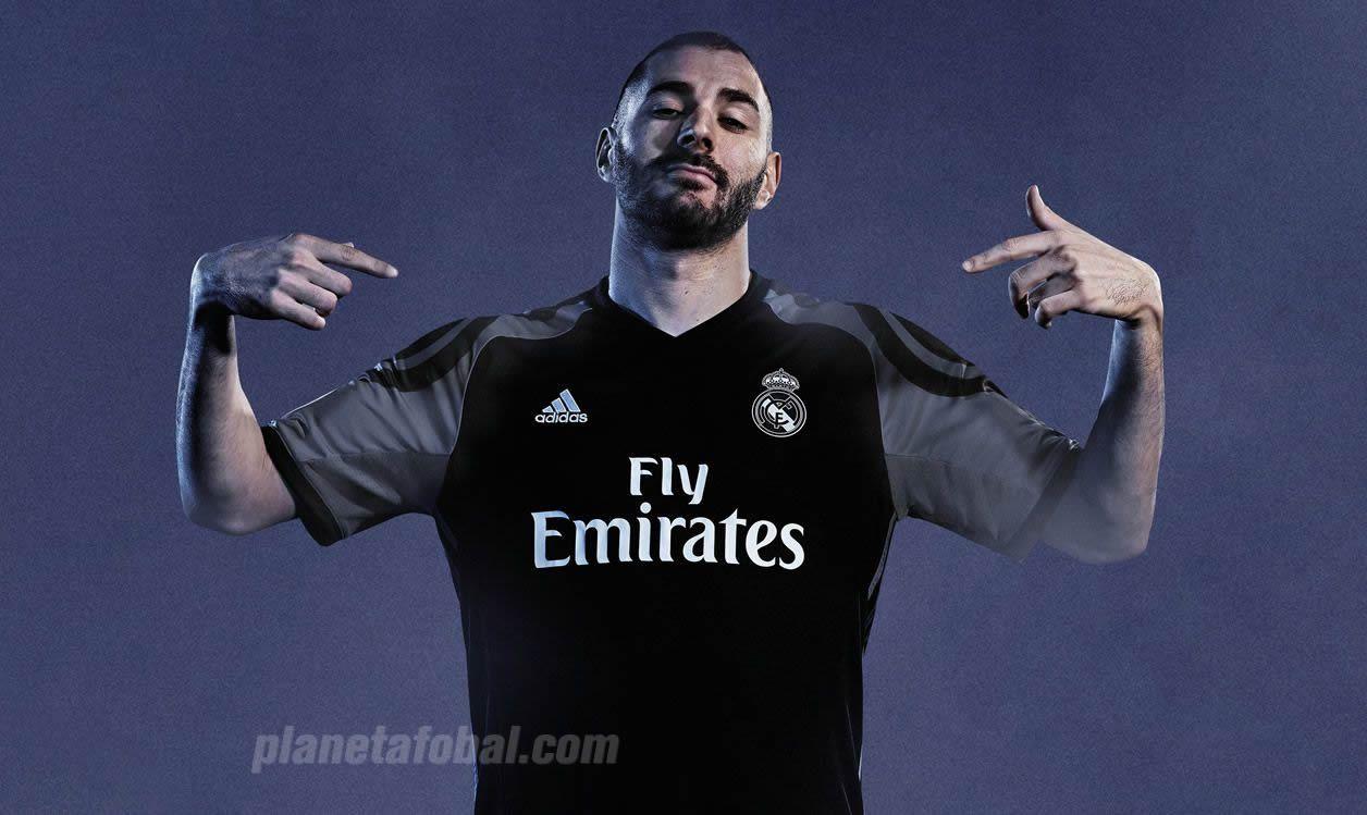 Tercera camiseta del Real Madrid | Foto Adidas