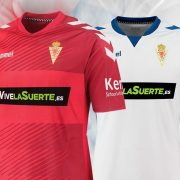 Nuevas casacas del Real Murcia   Foto Hummel