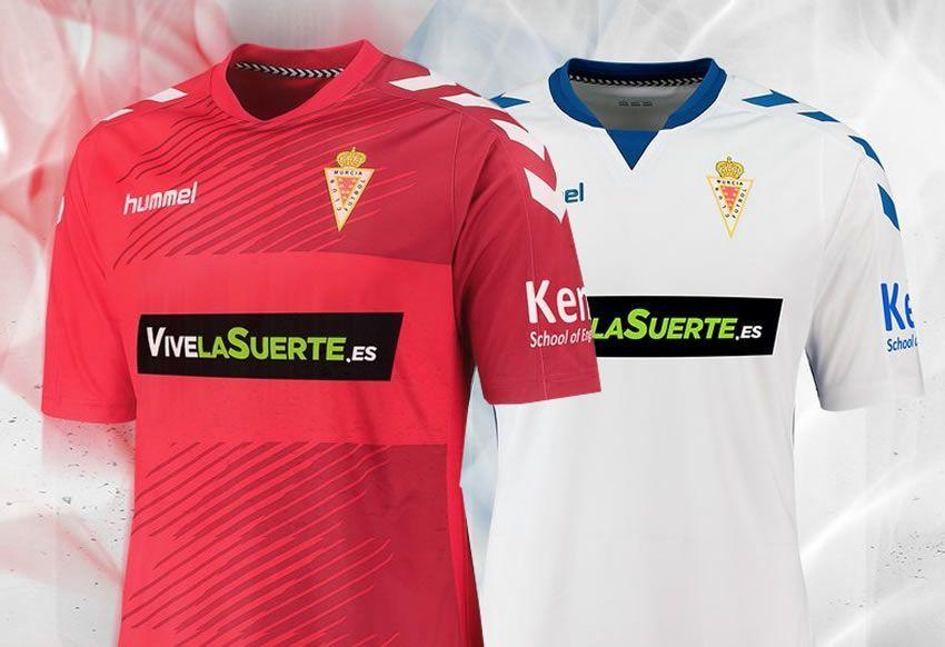 Nuevas casacas del Real Murcia | Foto Hummel