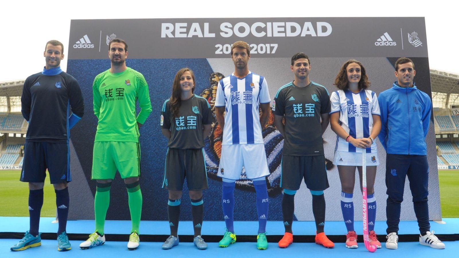 Nuevas casacas de la Real Sociedad | Imágenes Web Oficial