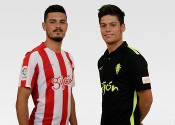 Nuevas casacas del Sporting Gijón | Foto Web Oficial