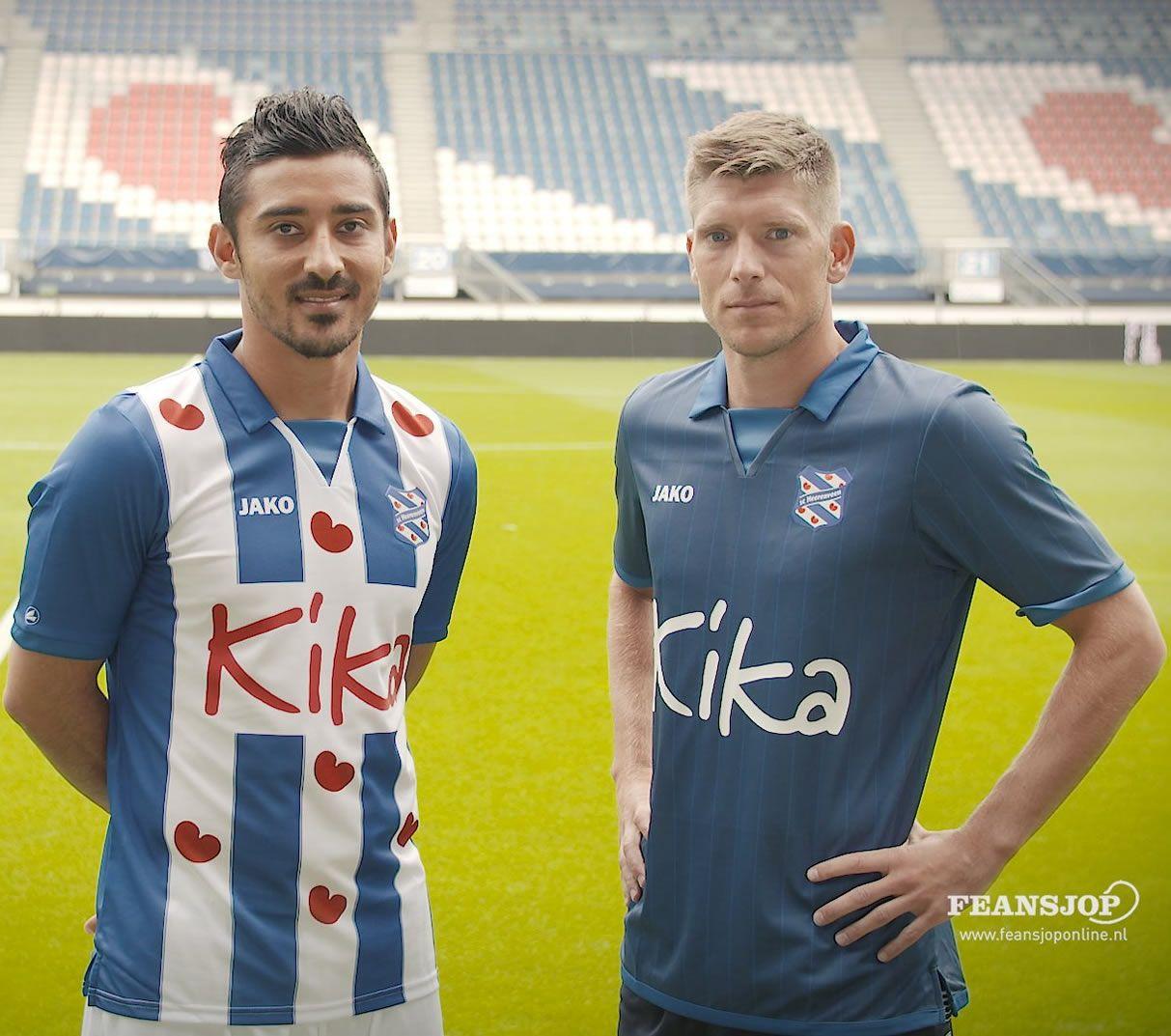 Nuevas casacas del SC Heerenveen | Foto Web Oficial